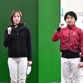 (左から)永島まなみ、藤田菜七子、古川奈穂