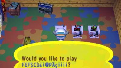 ゲームキューブのどうぶつの森+にはファミコンのエミュレーター機能が隠されていた