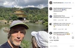京都を堪能したマッツ・ミケルセン、金閣寺も訪問!