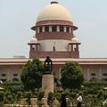 インド首都ニューデリーにある最高裁判所(2018年7月9日撮影、資料写真)。(c)AFP/Sajjad HUSSAIN