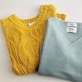 使える美人服はここにあり!【ZARA&オペーク】のキレイ色ニットでマンネリ回避コーデ6選