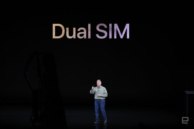 [画像] 新iPhoneはnano SIMとeSIMのDSDS対応。中国モデルのみnano SIM x2に