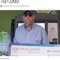 1日に2度宝くじに当選した米バージニア州の男性(画像は『Inside Edition 2019年1月9日付「Virginia Man Wins the Lottery Twice in a Day, Taking Home $101,000」(Virginia Lottery Officials)』のスクリーンショット)