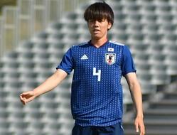 ポルトガル戦で存在感を発揮した田中。川崎でも出場機会を伸ばし、急成長を見せている。写真:サッカーダイジェスト
