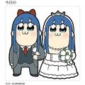 「ピピ美とピピ美の結婚」大川ぶくぶ氏がの祝福イラストに大反響