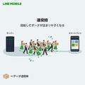 LINEモバイルが新たな取組を実施 利用混雑時における通信速度を改善