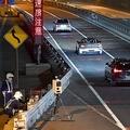 5月末の夜、首都高の銀座出口付近で移動オービスを発見した。2〜3時間ごとに場所が変更されていくことが多い