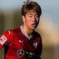ハノーファーへのレンタル移籍が目前に迫る浅野。来季もドイツがチャレンジに舞台となりそうだ。(C)Getty Images
