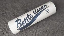 セリア ボトル型テイッシュケース 写真1