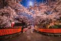 夜更けに撮影された京都の街並みがTwitterで話題 「映画のワンシーン」