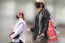 USJから帰京したきゃりーと葉山