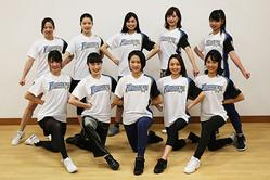 「ファイターズガール」の2018年新メンバーに選ばれた10人【写真提供:北海道日本ハムファイターズ】
