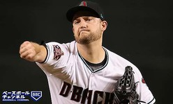 PHOENIX, AZ - SEPTEMBER 18:  Starting pitcher Matt Andriese #35 of the Arizona Diamondbacks throws a warm up pitch during the first inning of the MLB game against the Chicago Cubs at Chase Field on September 18, 2018 in Phoenix, Arizona.  (Photo by Christian Petersen/Getty Images)