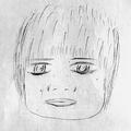 A子さんが描いた犯人の似顔絵