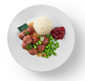 味も見た目も肉 IKEA冷食が好評