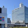 東京都渋谷区にあるNHK放送センター。(写真=時事通信フォト)