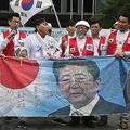 韓国では過激な反日デモが繰り広げられているが…(AFP=時事)