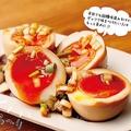 味玉に革命が!「ねぎダレ煮卵」/(C)かのまん、大和田潔、京角省吾/竹書房
