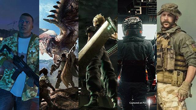 [画像] 「PS5で遊びたいタイトルは?」結果発表─ハンティングやクライムACTを制し、『ファイナルファンタジー』シリーズが堂々の首位! 1位〜15位までお披露目