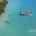 ウエスタンオーストラリア州沿岸ダンピア諸島の発掘エリア。DHSCプロジェクトおよびフリンダース大学海洋考古学プログラム提供(2019年9月9日撮影)。(c)AFP PHOTO / DHSC PROJECT AND FLINDERS UNIVERSITY, MARITIME ARCHAEOLOGY PROGRAM