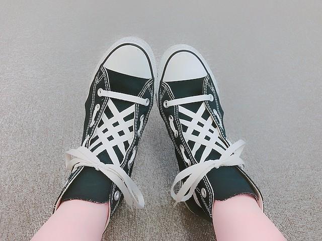 靴ひもの結び方を変えるだけでおしゃれに 簡単なアレンジ方法