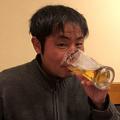 Sさんの奢りで居酒屋で飲む