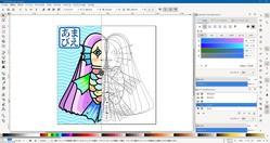 『Inkscape』のウィンドウ