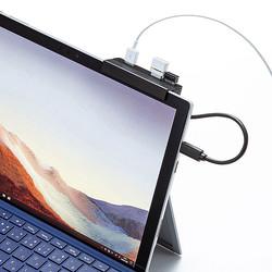 iPadPro、Surfaceに挟んで使える! サンワサプライ、Type-Cポートの便利なハブ3種類