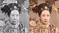 26日、「中国3大悪女」の1人にも数えられる清の西太后だが、ネットユーザーが再現した若かりし頃の姿が「美しい」と話題に。中国の若手女優の姜梓新にそっくりだとの声も上がっている。