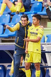 リーグ上位を争うビジャレアルのエメリ監督(左)も久保への期待を口にしているが、信頼を得るためには強豪相手に結果を残すことが必要になるだろう