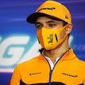 フォーミュラワン(F1、F1世界選手権)に参戦するマクラーレンのランド・ノリス(2020年10月22日撮影)。(c)Joe Portlock / POOL / AFP