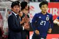 (左から)日本代表の森保監督、MF久保建英【写真:Getty Images&Noriko NAGANO】