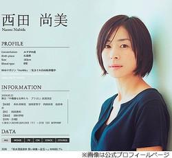 西田尚美「ついに50歳になってしまいました」