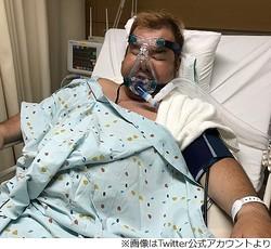 ハチミツ二郎が入院「新幹線に乗ってたら死んでた」