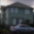 上尾市内にある容疑者の自宅。自動車は亡父が遺したものだという