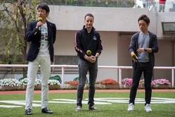 ジョッキーイベントで武豊 ルメール 川田将雅が共演!神戸新聞杯をレース回顧