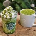 「抹茶 ホワイト チ ョコレート フラペチーノ」「抹茶 ホワイト チ ョコレート」/画像提供:スターバックス コーヒー ジャパン