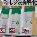 レジ袋の有料化は本当に環境にいいのか 環境への負荷は少ないとの説も