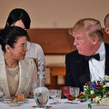 雅子さまは晩餐会などすべての国賓歓迎行事に参加された(時事通信フォト)
