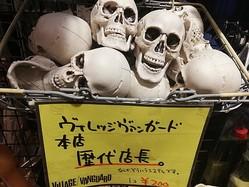 どういうことなの!? ヴィレッジヴァンガード本店で「歴代店長の頭蓋骨」を売っている様子がジワる