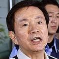 森田千葉県知事(左)と坂上忍(C)共同通信社