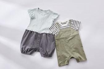 """[画像] GUのベビー服「GU baby」誕生、""""セパレート見え""""オールインワン「セパオール」など"""