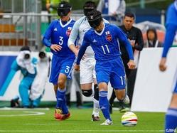 対ブラジル戦で1年半ぶりのゴールが期待されるFP黒田智成