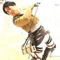 和牛の水田信二が「進撃の巨人」のリヴァイのコスプレ披露 ファン爆笑