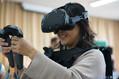 VR技術などを活用した治療機器の開発を目指す