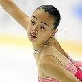 女子シングル・総合で5位となった西野友毬。 (Photo by Kenta Yokoyama/PHOTO KISHIMOTO)  [2008年10月24日、日本ガイシアリーナ (日本・愛知)]