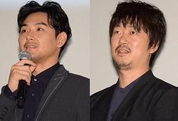 松田龍平と新井浩文(写真は2018年9月撮影)