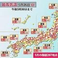 北海道で5月の最高気温39.5度を観測 なぜ正確に予報できなかった?