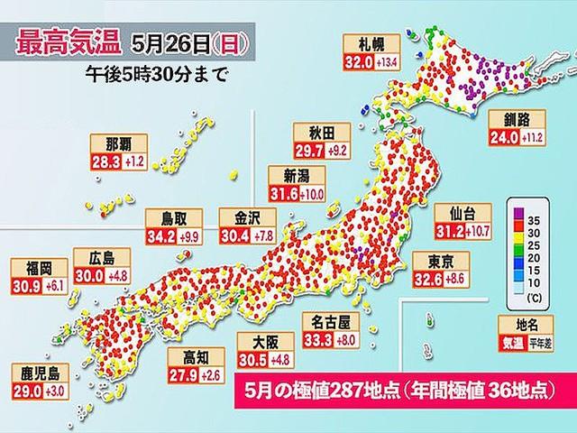 気温 最高 【速報】静岡県浜松市で日本歴代最高に並ぶ41.1℃を観測