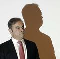 レバノン首都ベイルートで記者会見に臨むカルロス・ゴーン被告(2020年1月8日撮影)。(c)JOSEPH EID / AFP
